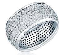 Ring Sterling Silber Zirkonia (CZ) silber