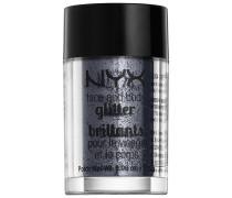 2.5 g Gunmetal Face & Body Glitter Lidschatten