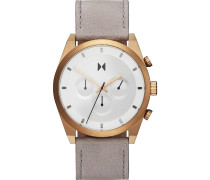 -Uhren Analog Quarz Beige/Silber 32014823