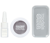 1 Stück  Silver Steel Chrome Eyeshadow Kit Make-up Set
