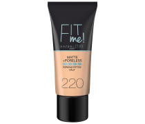 Nr. 220 - Natural Beige Fit Me Matte & Poreless Foundation 30ml