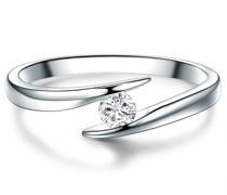 Ring Sterling Silber Topas silber
