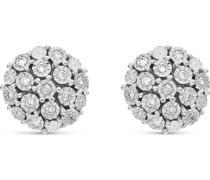 -Ohrstecker 375er Weißgold 26 Diamant One Size 87764508