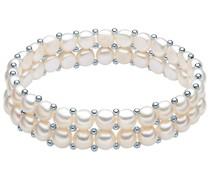 Armband Sterling Silber Süßwasser-Zuchtperle silber