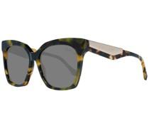 Ästhetische Sonnenbrille Braun