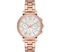 -Uhren Analog Quarz One Size Edelstahl 87478653