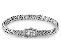 Armband Panzerarmband Zirkonia Kristalle 925 Silber