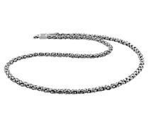 Halsketteschmuck Königskette Oxidiert 925 Silber