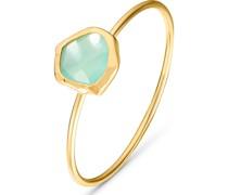-Ring Fr�hjahr 925er Silber Glasstein 54 32012339
