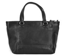 Lugano Handtasche Leder 25 cm Handtaschen Schwarz