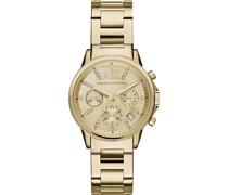 -Uhren Analog Quarz Bicolor Edelstahl 32001580