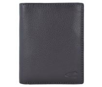 Macau Geldbörse RFID Leder 9 cm Portemonnaies Braun