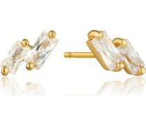-Ohrstecker Glow Stud Earrings 925er Silber Zirkonia 32014130