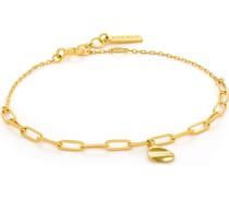 -Armband Crush Dro Disk Bracelet 925er Silber Gold 32014142