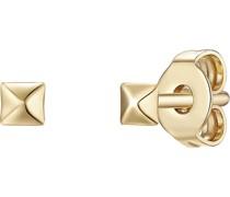 -Ohrstecker 925er Silber Gold 32015483