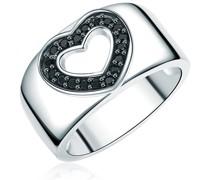 Ring Herz Sterling Silber Zirkonia silber Ringe