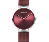 Unisex-Uhren Analog Quarz Grün/Roségold 32017005