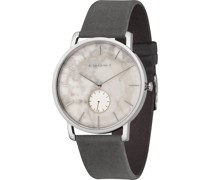 Unisex-Uhren Analog Quarz One Size Leder 87326187