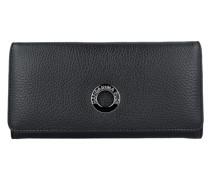 Mellow Clip Kellnerbörse Leder 19 cm Portemonnaies Schwarz