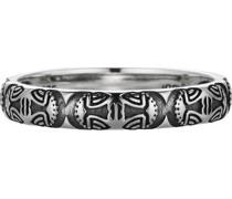 -Herrenring Culture Collector 925er Silber 60 32011501