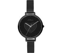 -Uhren Analog Quarz One Size Edelstahl 87754561