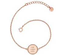 Armband Live Laugh Love Sterling Silber silber Silberarmband