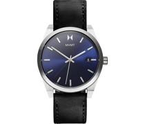 -Uhren Analog Quarz Schwarz/Silber 32014822