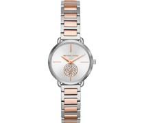 -Uhren Quarz One Size Edelstahl 87881431