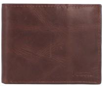 Derrick Geldbörse RFID Leder 11 cm