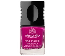 50 - Vibrant Fuchsia Shiny Pink & Sexy Lilac Nagellack 10ml