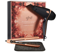 1 Stück  Luxe Air Hairdryer & V Gold Styler Gift Set Hairstylingset