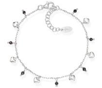 -Armband 925er Silber 8 Glasstein One Size 88160274