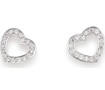 -Ohrstecker 925er Silber 7 Glasstein One Size 88160355