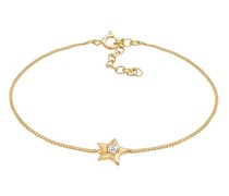 Armband Stern Star Swarovski® Kristalle 925 Silber
