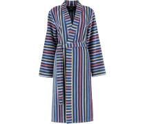 Bademantel Kimono Streifen 3343 blau-multicolor - 12