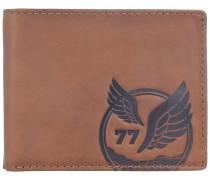Nepal Geldbörse RFID Leder 12 cm