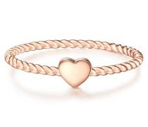 Ring Herz Sterling Silber roségold