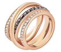-Damenring Metall Kristalle 55 32004326