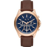 -Uhren Analog Quarz One Size Leder 87637417