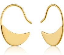 -Ohrhänger Geometry Slim Hoop 925er Silber One Size 87994236