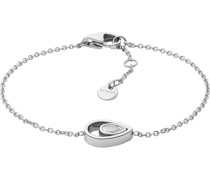 -Armband Edelstahl Glasstein One Size 87967115