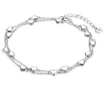 Armband Herz Sterling Silber silber Silberarmband