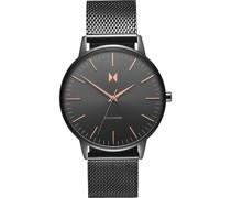 -Uhren Analog Quarz Grau 32002086