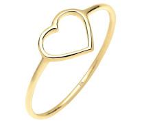 Ring Herz Trendsymbol Filigran 375 Gelbgold