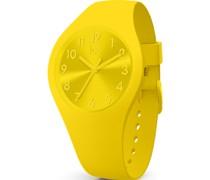 -Uhren Analog Quarz Gelb 32015105