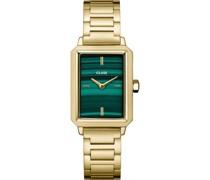 -Uhren Analog Quarz Silber, Schwarz 32018829