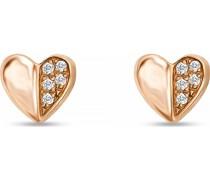 -Ohrstecker Diamant Weißgold 32010431