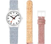 Unisex-Uhren Analog Quarz Rot 32015956