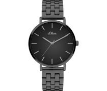-Uhren Analog Quarz Rosé Edelstahl 32015186
