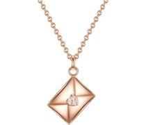 -Kette 925er Silber 1 Zirkonia One Size 88163028